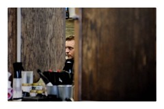 Worth the wait (autoworks31) Tags: photographer photography streetphotography ottawavalley barbershop haircut ottawa