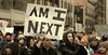 Are You Next (Scott 97006) Tags: protest young students sign guns questions finger