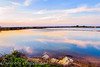 The Sky on the Water (Francesco Impellizzeri) Tags: trapani sicilia dusk water reflections canon landscape clouds sky