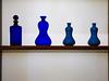 I Dream of Genies (Steve Taylor (Photography)) Tags: shelf glass blue flask design brown white uk gb england greatbritain unitedkingdom london bottle stopper minimalism minimalist