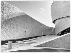 Architecture (Francisco (PortoPortugal)) Tags: 0682018 20170519fpbo5723 bw nb pb arquitectura architecture terminaldecruzeiros cruiseterminal matosinhos porto portugal portografiaassociaçãofotográficadoporto franciscooliveira