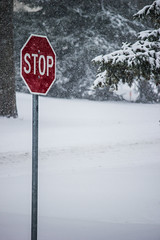 Winter feelings... (Koku85) Tags: winter snow weather manitoba sign