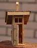 IMGP8994 (kudrdima) Tags: модель моделирование сторожевойдом масштаб125 железнаядорога жд россия oldtime петербурговаршавскаяжелезнаядорога guardhouse railway railroad russia model scaleg spuriim gaugeg gauge1 туалет отхожееместо latrine крыша roof стропила обрешётка навес петля ручка запор тёс