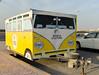 Beach culture (Francisco Anzola) Tags: trailer beach bahrain manama box