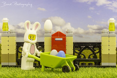 Happy Easter (Bond Photography Creations) Tags: lego minifig easter egg easteregghunt toy plastic