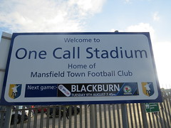 MansfieldTown-OneCallStadium1 (lysaker) Tags: mansfieldtown blackburnrovers blackburn mansfield notts nottinghamshire football leaguecup