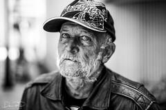 Stranger 74/100 - Tom (Dan Russell-Pinson) Tags: 100strangers tom portrait portraits street streetphotography 50mm people charlotte northcarolina nc natural light stranger marine homeless firefighter veteran