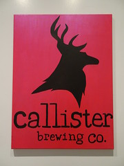 Callister Brewing Company (knightbefore_99) Tags: poster red deer cool craft beer callister vancouver bc eastvan best awesome tasting room art stag great franklin canada pivo
