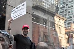 islamaphobia (greenelent) Tags: notrump protest demonstration riseandresist streets people activists nyc newyork