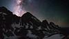 Milky Way and the Grenadier Mountians (Matt Payne Photography) Tags: colorado milkyway grenadierrange night mountains vestalbasin arrowpeak