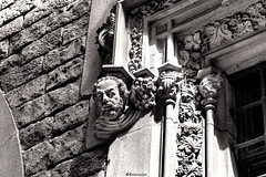 Casa dels Canonges (rossendgricasas) Tags: generalitatdecatalunya puigdemont barcelona catalonia bw bn monochrome noperson architecture streetphotography streetart photography photoshop photographer photoday nikon tamron
