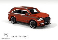 DS Automobiles DS7 Crossback (2018) (lego911) Tags: citroen ds automobiles ds7 crossback cuv crossover 4x4 4wd awd wagon luxury 2018 2010s france french auto car moc model miniland lego lego911 ldd render cad povray foitsop