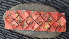 Buchzeichen (Fujimoto) (musitine) Tags: origami tessellation fujimoto hydrangea paperart
