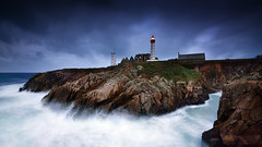 Bay Guardian (FredConcha) Tags: fredconcha landscape nature finistere bretagne sea petitminou lighthouse farol rock bay nikon d800 conquet lee