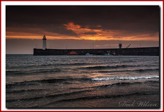 """Only me at """" The Dee"""" (Deek Wilson) Tags: donaghadee lighthouse lifeboat rnli seascape sky sunrise northernireland tide wave water"""