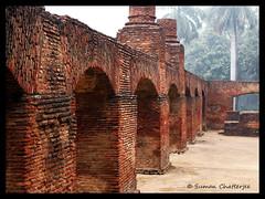 The Main Building #5, Residency, Lucknow (Suman Chatterjee) Tags: lucknow oudh awadh baraimambara hussainabad nawab rumidarwaza gomtiriver chotaimambara machchibhawan saadatkhan shujauddaula asafuddaula saadatalikhan wajidalishah residency sumanchatterjee