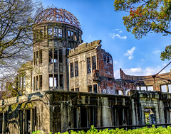 Hiroshima Atomic Bomb Dome (sibnet2000) Tags: hiroshima atomicbomb atomicbombdome memorial nuclearweapon worldwarii wwii japan canon5dmarkiv