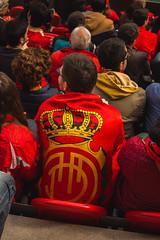 _MG_9912 (sergiopenalvagonzalez) Tags: futbol domingo palma de mallorca pelota jugadores aficion rojo negro pasion
