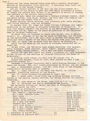 Royal Oak Presbyterian Church History 1973 Page 3 (mwlinford) Tags: royal oak presbyterian church marion virginia smythcounty