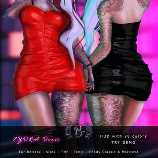 Zydra Dress @ The Dark Side 3