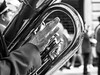 Trapani - Easter 2018 (Time to try) Tags: mucis brass brassband italy misteri trapini easter 2018 monochrome blackandwhite olympus em1mk2 street 25mmf12 prime mft microfourthirds