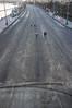 DSCF4299 (Mike Pechyonkin) Tags: 2018 moscow москва road дорога street улица asphalt асфальт girl woman девушка man мужчина streetlight фонарь embankment набережная river река