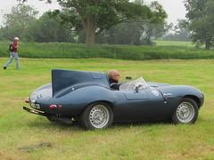 Jaguar D-Type Replica MDO121 (Andrew 2.8i) Tags: berkeleycastle berkeley glos gloucestershire classic classics car cars show jag d type kit replica jaguar