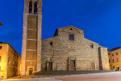 Unfinished Facade (dcnelson1898) Tags: montepulciano tuscany italy town wine travel vacation countryside nightphotography dawn longexposure