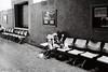 Afternoon Nap (D. R. Hill Photography) Tags: bangkok thailand thai asia southeastasia hualamphong afternoonnap sleep sleeping nap blackandwhite monochrome grain film analog 135 35mmfilm kodak kodakfilm kodaktrix400 trix contax contaxg1 g1 carlzeissplanar35mmf2 planar 35mm primelens fixedfocallength street streetphotography zeiss