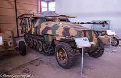 Sd. Kfz 251/7 Pioneerpanzerwagen armoured personnel carrier (Glenn Courtney) Tags: deutschespanzermuseum germantankmuseum sdkfz2517 apc armour armouredpersonnelcarrier germany munster museum