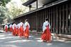 20180404 attendants (chromewaves) Tags: fujifilm xf xt20 1855mm f284 r lm ois tokyo japan harajuku yoyogi park meiji jingu shrine