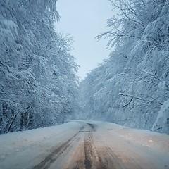#roads #snow (n1l3p) Tags: snow roads