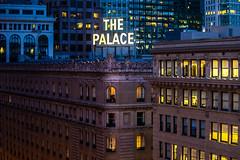 Neon Speaks (Thomas Hawk) Tags: california hotel neonspeaks palacehotel sanfrancisco thepalacehotel usa unitedstates unitedstatesofamerica neon neonsign us fav10 fav25 fav50 fav100
