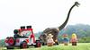 Welcome to Jurassic Park (hachiroku24) Tags: lego jurassic park minifigs scene movie