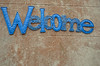 Welcome (jimj0will) Tags: welcome blue word
