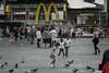 (onesevenone) Tags: onesevenone stefangeorgi newyork newyorkcity city nyc ny america unitedstates eastcoast urban gothamist timessquare midtown mcdonalds mcd pigeons kids children playing