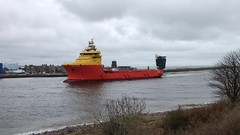 Edda Ferd - Aberdeen Harbour Scotland - 30/3/2018 (DanoAberdeen) Tags: shipping ships yellow scotland scottish aberdeenscotland aberdeen autumn amateur aberdeencity abdn aberdeenharbour winter workboats wss wasser weather ecosse escotia engineering recent riverdee river tug transport torry uk unitedkingdom iskoçya iphone iphonevideo iphoneography offshore oilships oldtimer oilrigs offshoreships psv port pocraquay plage platformsupplyships seascape summer spring dock docks grampian highlands landscape abz szkocja candid cargoships cityofaberdeen clouds vessels vts bluesky boats bonnyscotland nikon northseasupplyships northseasupplyvessels eddaferd imo generalcargo seafarers merchantnavy worboat 2018 northeastsupplyvessels geotagged danoaberdeen