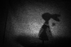 disappearance, series (Neko! Neko! Neko!) Tags: blackandwhite blackwhite bw mono monochrome dream memory imagination subconsciousness shadows littledoglaughednoiret