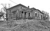 Forlorn (nelhiebelv) Tags: grand house raised terraced abandoned ruin forlorn lowell michigan monochrome
