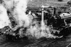 3440 + 8233 Severn Valley Railway D210bob R00169 (D210bob) Tags: 3440 8233 severnvalley railway d210bob blackwhitephotography blackwhite monochrome monochromephotography greatwestern olympusom2n railwaysnaps railwayphotographs railwayphotography railwayphotos