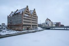 Winter in Gdańsk (Maciej Dusiciel) Tags: architecture architectural winter snow building urban travel poland polska europe world city gdańsk gdansk sony alpha samyang