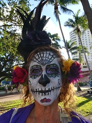 Beautiful face paint.
