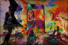 Dimensional layers (PaulO Classic. ©) Tags: 3d photoshop picmonkey surreal deviantart