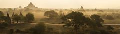 bagan sunrise NO. 3 (cih94) Tags: bagan sunrise balloons over temple hdr ပုဂံ pagan ancient city pagodas myanmar burmese burma buddhism buildings monastery sun yellow plain valley panorama dust haze fotocompetition fotocompetitionbronze