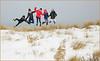 """""""Et Yop la Boum"""" """"Promenade sur les dunes"""" De Banjaard, Kamperland, Noord-Beveland, Zeelande, Nederland (claude lina) Tags: claudelina nederland hollande paysbas zeeland debanjaard plage dune merdunord noordzee zeelande oyat saut jump"""