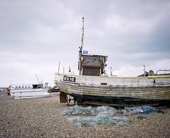 Hastings Fishing Fleet #3 (@davidflem) Tags: hastings sussex mamiya7 65mm kodak portra400 120film 6x7 mediumformat filmphotography istillshootfilm