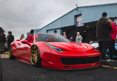 Slammed as F. (CP Fraudtography) Tags: canibeat firstclassfitment ferrari forgiato libertywalk