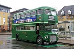 RMC1453 (DaveAFlett) Tags: aec routemaster rmc1453 arrivalondon heritagefleet watfordrunningday2018 453clt