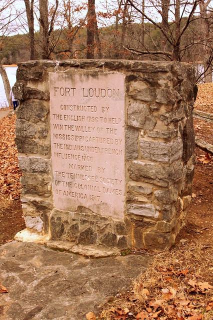 Fort Loudon 1917 Marker