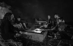 Assando o pan de palo (Ars Clicandi) Tags: brazil brasil socorro sp pedrabelavista pedra bela vista noite night pan de palo pandepalo pao bread fogueira fogo fire fireplace nightshot sãopaulo br